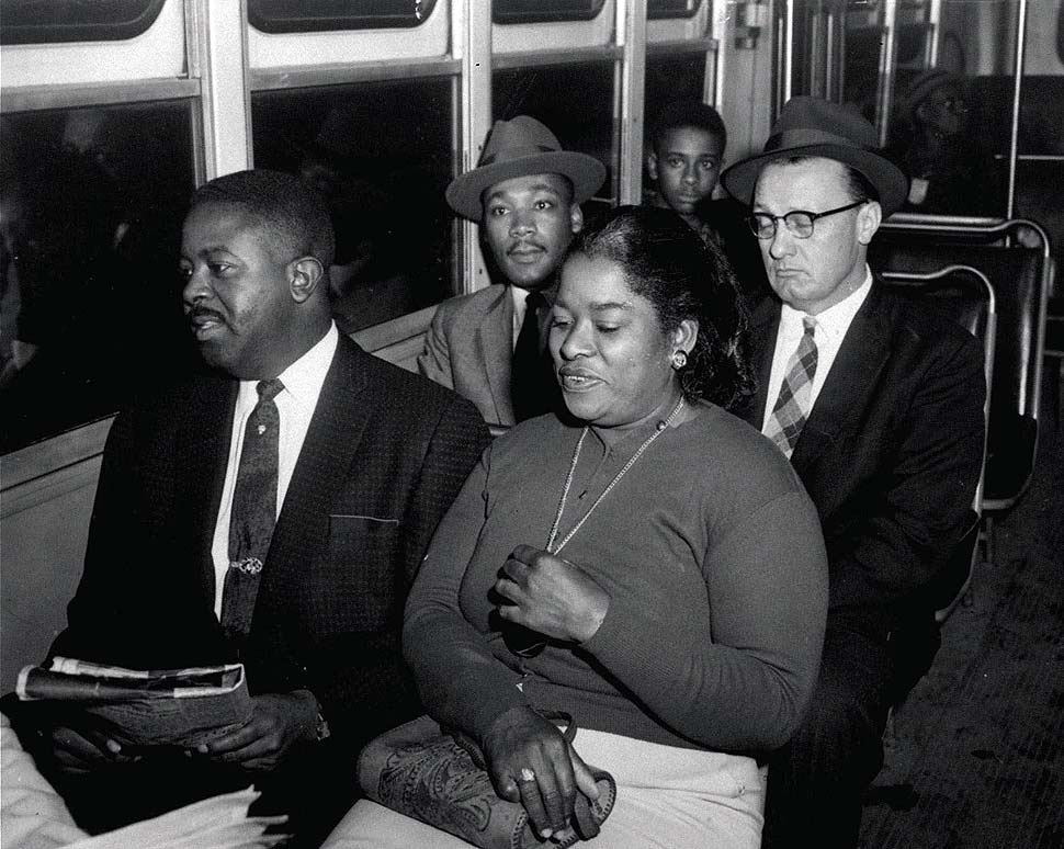 martin luther king bus boycott Kids learn about martin luther king, jr's biography martin luther king, jr led the montgomery bus boycott she was arrested and spent the night in jail as a result, martin helped to organize a boycott of the public transportation system in montgomery.